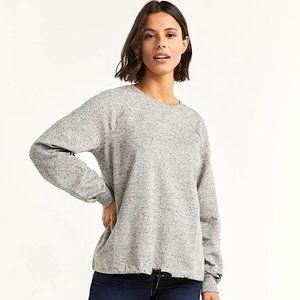 Cotton-Blend French Terry Sweater
